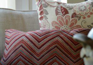 GeoBella® Orange & Red Outdoor Upholstery Fabrics